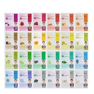 $13.99(原价$23.99)韩国 Dermal 胶原蛋白补水保湿面膜 24片