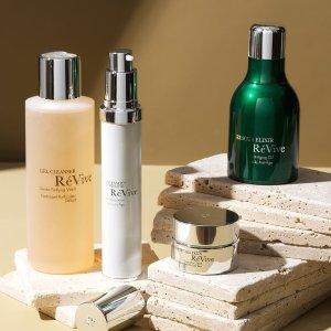 全场7.5折 + 送好礼独家:Revive 护肤产品热卖 经典修复绿霜、舒缓平衡保湿水