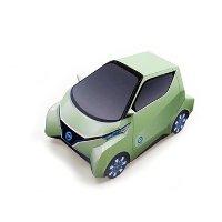 Nissan Pivo3 折纸模型免费下载