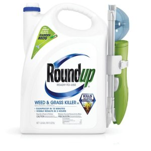 $24.98Roundup 强力除杂草剂 1.33加仑 送1.25加仑补充装
