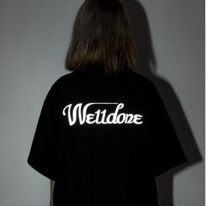 反光 logo t恤