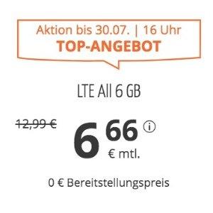 月租仅€6.66 代号入网送€6.82