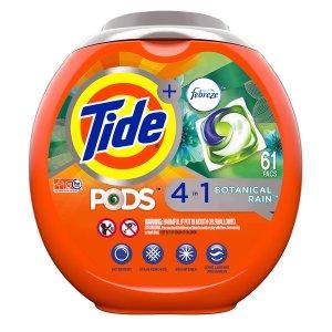 Tide PODS 汰渍四合一果冻高效洗衣球 61颗