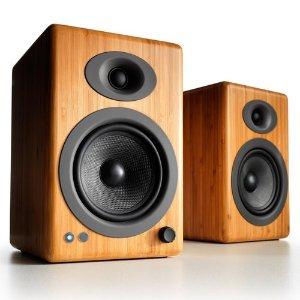 AudioengineA5+ Wireless Powered Bookshelf Speakers - Pair