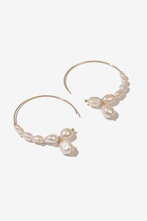 Samson Gold珍珠耳环