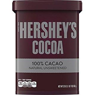 $7.18HERSHEY'S Cocoa 23oz, Naturally Unsweetened
