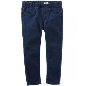 OshKosh B'gosh女小童牛仔裤,2T-5T