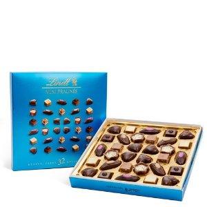 Lindt迷你Pralines混合口味巧克力礼盒  32颗装