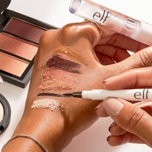 FREE 4-PIECE GIFT+ FSWITH YOUR $25 PURCHASE @ e.l.f. Cosmetics
