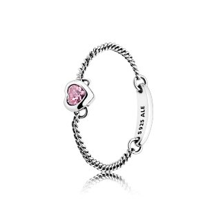 PandoraExtra 20% off When You Buy 2Spirited Heart Ring, Pink CZ