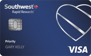 Earn up to 60,000 pointsSouthwest Rapid Rewards® Priority Credit Card