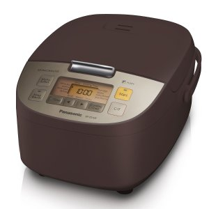$89Panasonic Electric 10-Cup Rice Cooker and Multi-Cooker, Espresso