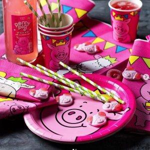 低至6折Marks&Spencer 野餐用品 彩虹杯、粉红猪餐具 可爱爆棚