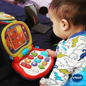 低至6折  $13收学习手表限今天:Vtech等早教玩具大促 封面宝宝学习小电脑$18