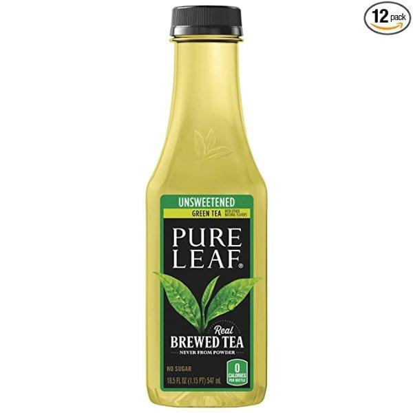 无糖鲜泡冰绿茶 12瓶装