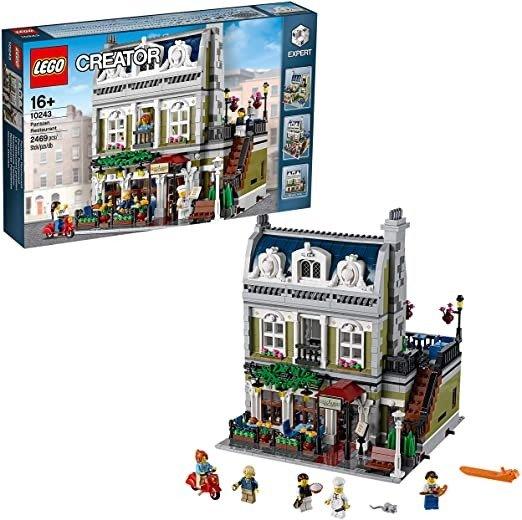 Creator Expert 巴黎人餐厅10243 Building Kit