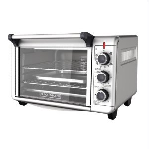 $32BLACK+DECKER Convection Countertop Oven, Stainless Steel, TO3000G @ Jet