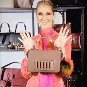 6折+额外7折  $29.39收斜挎包逆天价:Celine Dion 席琳狄翁同名品牌包包折上折热卖
