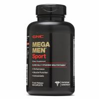 GNC 男士运动型综合维生素 180粒 Mega Men® Sport