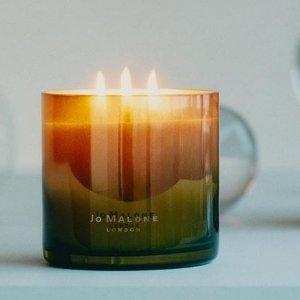 9折 or 送香氛2件套Jo Malone 渐变香氛蜡烛 明星香味交织,混香高级玩家