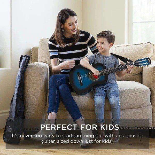 Acoustic Guitar 儿童初学者用吉他+配件+包装袋
