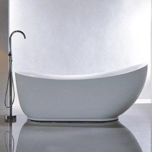 低至7折Overstock 精选独立式浴缸热卖 享受浪漫泡澡体验