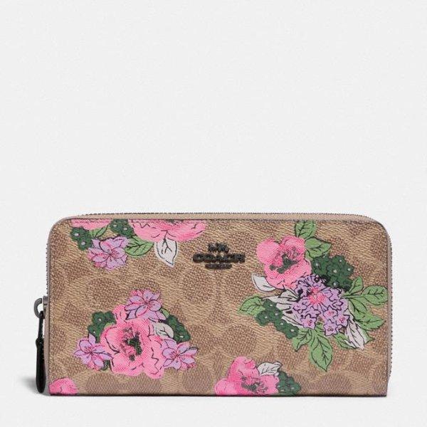 花卉老花钱包