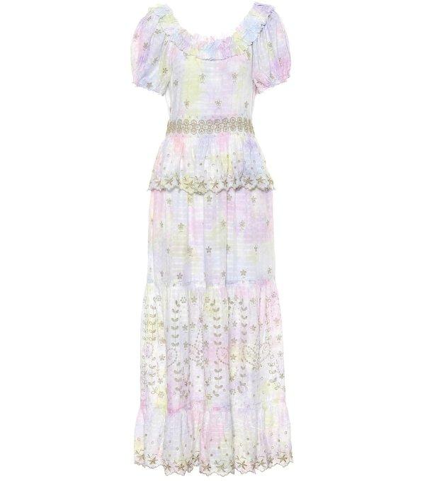 小清新蕾丝长裙