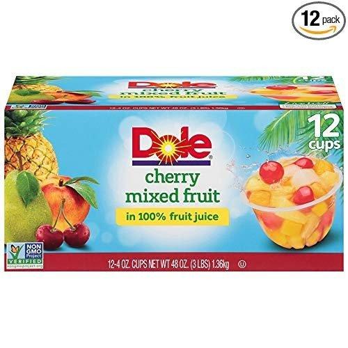 100%天然水果杯 混合口味 12杯装