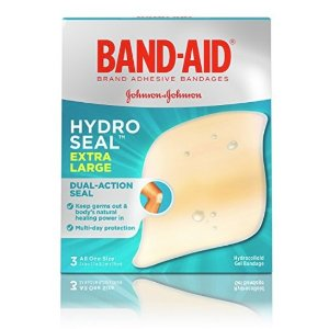$1Band-Aid Hydro Seal Extra Large Adhesive Waterproof Bandages For Wound Care And Blisters, 3 Count