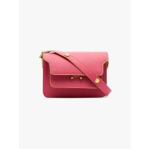 Marnipink Trunk small front-pocket shoulder bag
