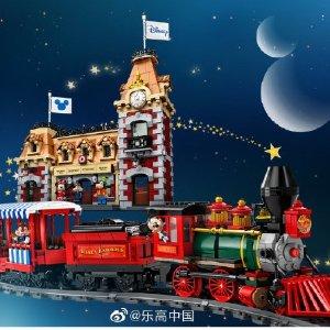 全新上市 71044乐高必收经典乐高 X 迪士尼 火车与火车站套装英国发售