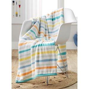 条纹毯子 130 x 180cm