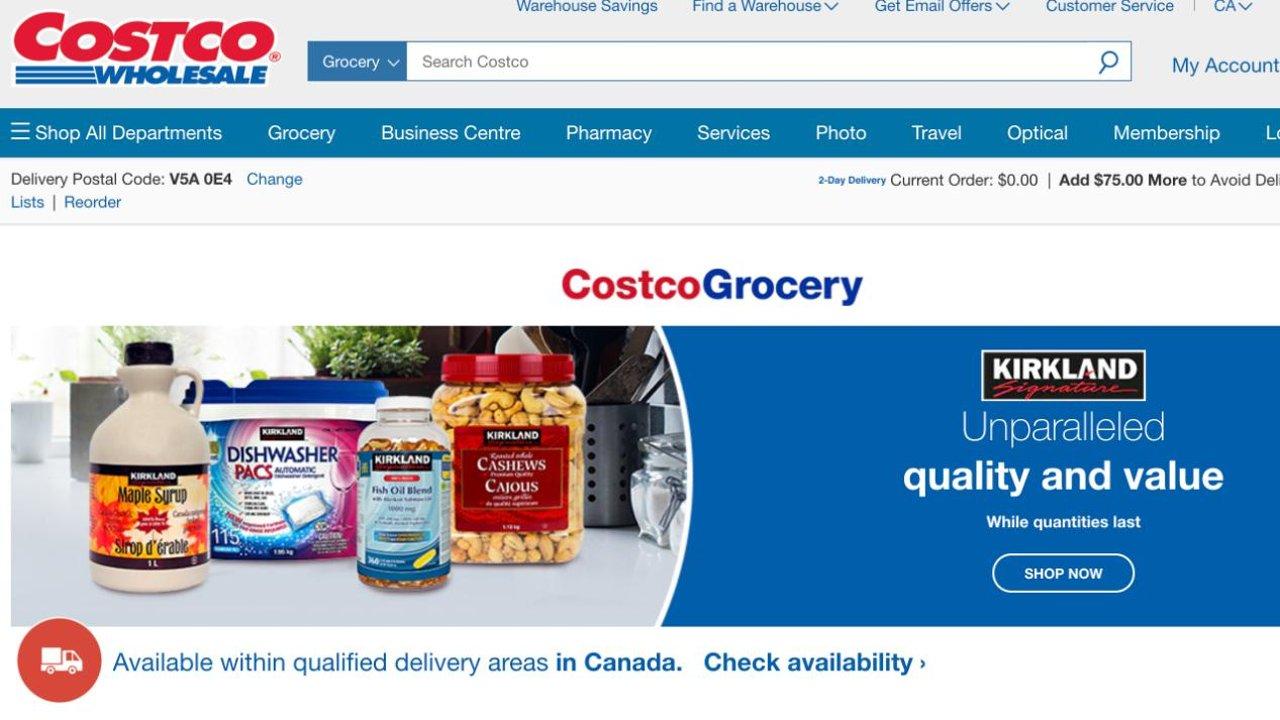 加拿大Costco线上好物推荐|足不出户也能快乐购物