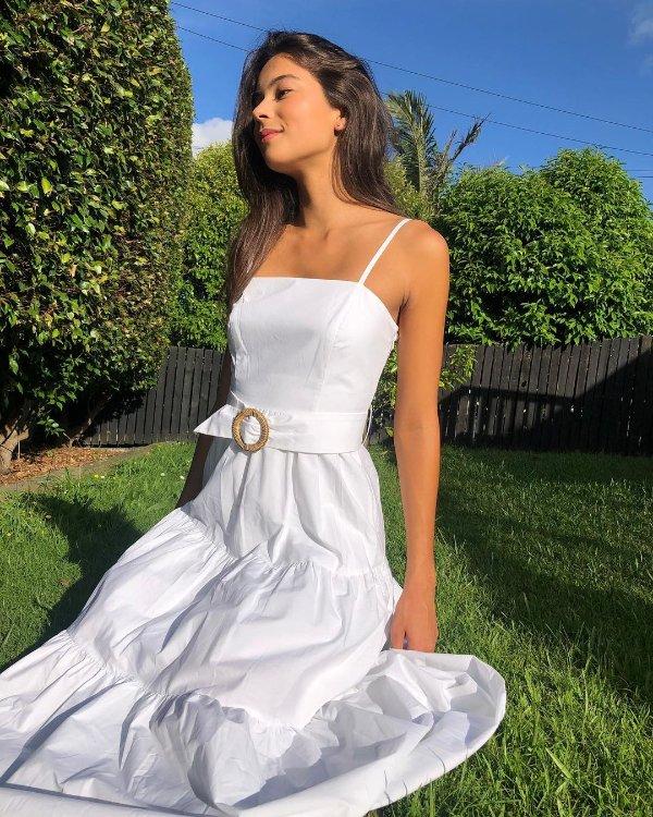 Dalia 吊带连衣裙