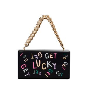 Edie ParkerJean Get Lucky Clutch Bag