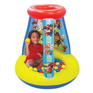 $23.87 (原价$39.99)Paw Patrol 汪汪队/狗狗巡逻队 充气玩具屋+塑料软球套装