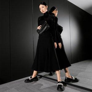 新品9折 珍珠乐福鞋$63上新:Charles & Keith 官网 新品抢先看 爆款少女穿搭速速收