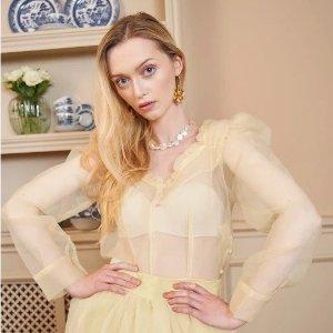 低至3折 封面柠檬色上衣$27Sister Jane 仙女品牌年终大促 穿上就是小公主