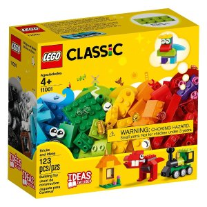 Lego满$100享7.5折 码SAVE25经典创意积木盒 123件