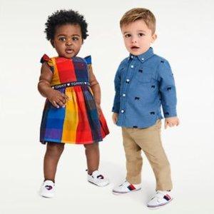 一律5折+包邮黑五价:Tommy Hilfiger儿童服饰、鞋履黑五大促 经典美式休闲风