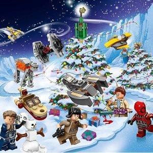 包邮 £22.99起,小朋友最爱Lego Advent Calendar 节日日历系列热卖