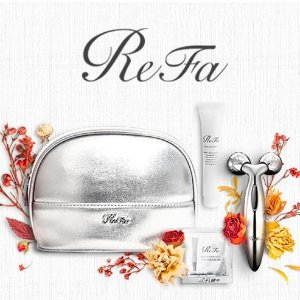Receive a Free ReFa Autumn Glow Gift SetWith Purchase of $200+ @refausa.com