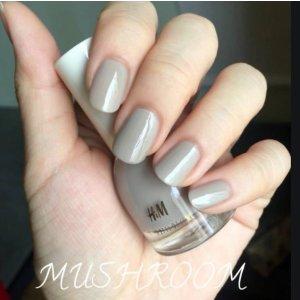 H&M气质灰指甲油