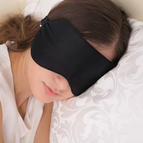 ALASKA BEAR Natural silk sleep mask & blindfold, super-smooth eye mask