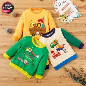 低至1.8折+最高额外8折独家:PatPat儿童服饰针织衫/保暖卫衣清仓大卖