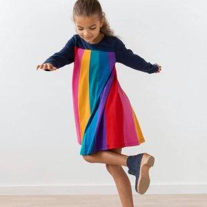6折Hanna Andersson 秋季童装促销,有针织开衫和新款美裙