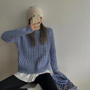 5折起+折上9折 €40收封面毛衣COS官网大促上新 设计感满满的针织开衫们 温暖这个秋冬