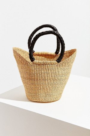 Urban Outfitters Urban Renewal Recycled Small Straw Bag