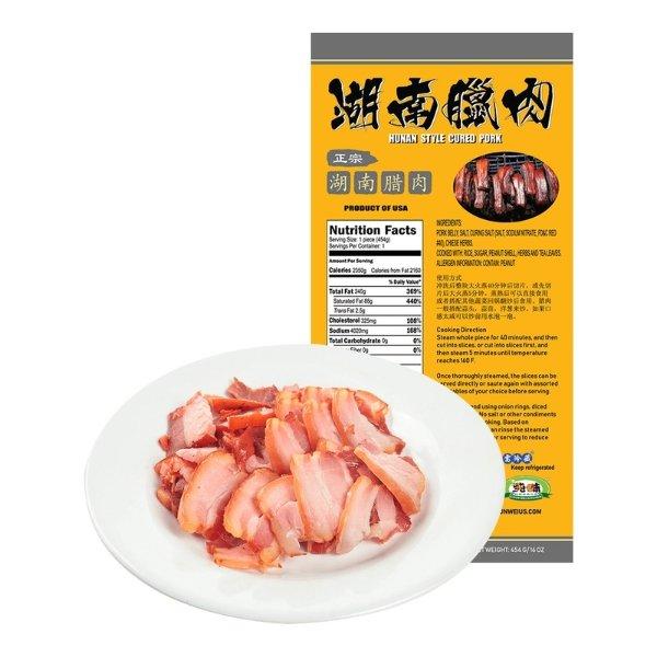 纯味 正宗湖南腊肉 453g USDA认证